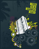 House Club Mix. Vector Illustration Royalty Free Stock Photography