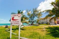 A house on a coast in Bahamas Royalty Free Stock Photos