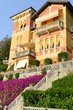 House at the coast of Levanto in Liguria Stock Images