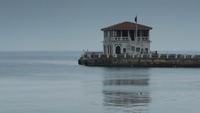 House coast shore Istanbul Stock Photography