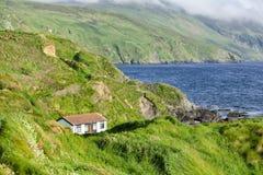 House on coast Royalty Free Stock Photos