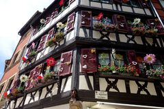 House in Colmar / Alsace Royalty Free Stock Photography