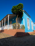 House in the colonial town of Trinidad in Cuba Stock Photography