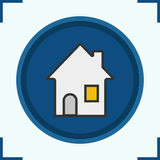 House color icon Stock Image