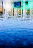 House color reflection on water Royalty Free Stock Photos