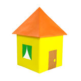House of colored paper Stock Image