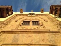 House of Columbus, Vegueta neighborhood. Detail of gate of Colón house, in the neighborhood of Vegueta. Las Palmas de Gran Canaria. Canary Islands, España stock photography