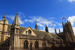 House of Commons London United Kingdom. House of Commons of the United Kingdom in Westminster, London stock photo