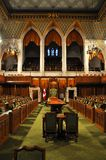 House of Commons of Parliament, Ottawa, Canada. The House of Commons of Parliament Building, Ottawa, Canada royalty free stock images