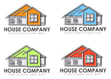 House company signs Royalty Free Stock Photography