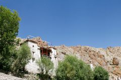 A house in the complex of Hemis monastery, Leh Stock Photography