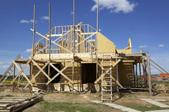House constraction Royalty Free Stock Photography
