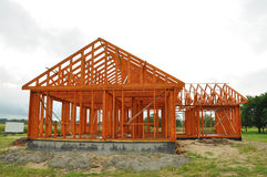 House construction Stock Photography