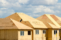 House construction Royalty Free Stock Images