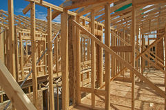 House construction. Stock Images