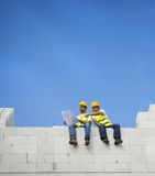 House construction Royalty Free Stock Photo