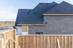 House construction Royalty Free Stock Photos