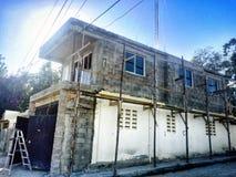 House construction. House in construction, Progress of 49% Mao City Royalty Free Stock Photography