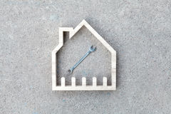 House construction renovate, Home improvement Royalty Free Stock Photography