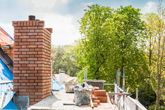 House construction renovation and repair Royalty Free Stock Image