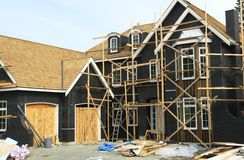 House Construction Site Royalty Free Stock Images