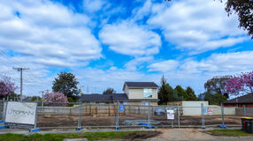 House construction site 3 Royalty Free Stock Image