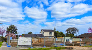 House construction site 4 Royalty Free Stock Images