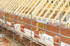 House construction stock images
