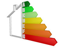 House, consumption, energy efficiency, energy saving, sale Stock Images