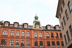 House in Copenhagen Royalty Free Stock Photos