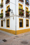 House in Cordoba Jewish Quarter Royalty Free Stock Images