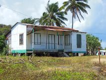 House Corn Island Nicaragua Central America royalty free stock images