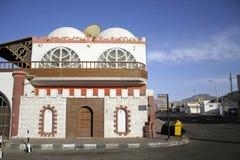 House on corner of elmshraba  Royalty Free Stock Image