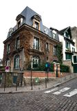 House on a Corner, Paris, France Royalty Free Stock Image