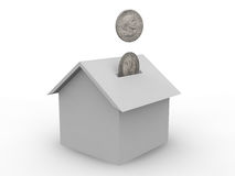 House cost Stock Photography