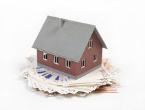House costs a lot of money Stock Images