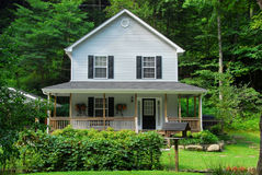 House in the Country stock photo