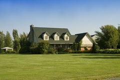 House In Country Royalty Free Stock Images
