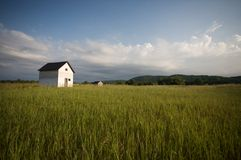 House in countryside Stock Photos
