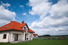 House in countryside Stock Image