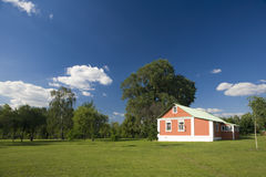 A house in the countryside Royalty Free Stock Photos