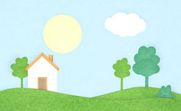 House in the countryside Royalty Free Stock Images