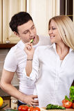 House couple Royalty Free Stock Images