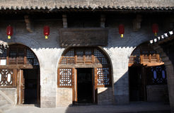House and courtyard in north china Royalty Free Stock Photo