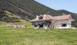 House in coutry of Potes Stock Photo