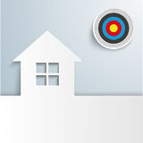 House Cover Target Sun Stock Photo