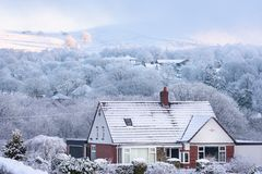 Snowy Britain UK Stock Photos