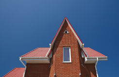 House covered with a tile Royalty Free Stock Photo
