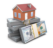 House credit Royalty Free Stock Image