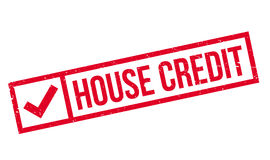 House Credit rubber stamp Royalty Free Stock Photography